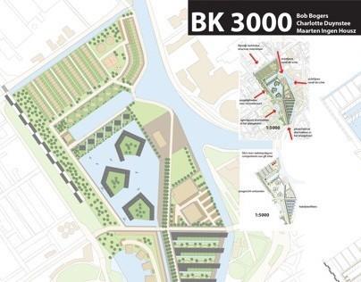 Urban Analysis & Masterplan DSM terrain Delft