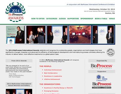 BioProcess International Awards - Web Site