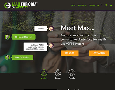 Max for CRM (Microsite)