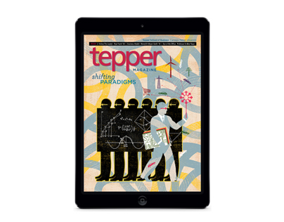 Tepper Magazine Fall 2012 for iPad