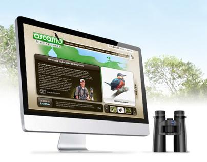 Ascanio Birding Tours Website Design