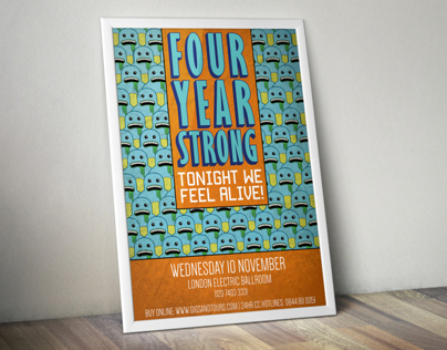 Four Year Strong Poster