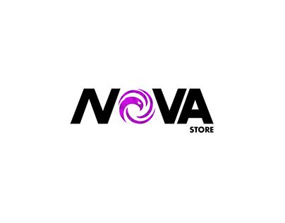 Anime& Gaming Brand Identity Design || NOVA Store