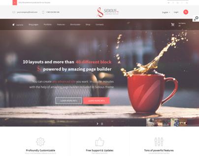 Sidious - Multi-Purpose Web Creation Tool