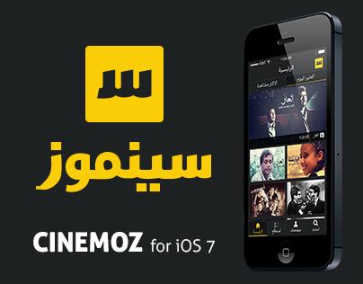 Cinemoz - iOS Application
