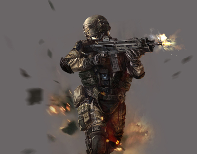 NEXON  WARFACE ILLUSTRATION