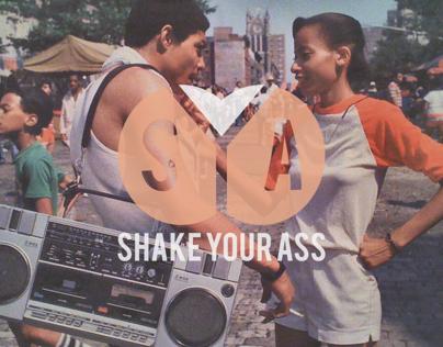 Shake Your Ass Logo Design