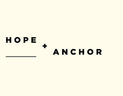 Hope and Anchor. B2B Brand and Website.