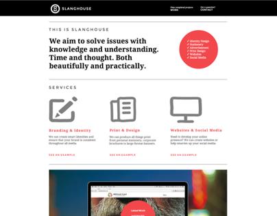 Slanghouse Website