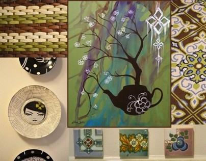 Custom Artwork For Interiors