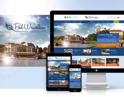 Hotel Pod Wawelem - Responsive Web Design