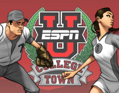 ESPN U College Town Character Colors