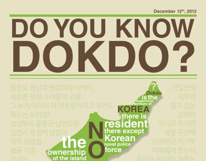 Infographic of Dokdo Island