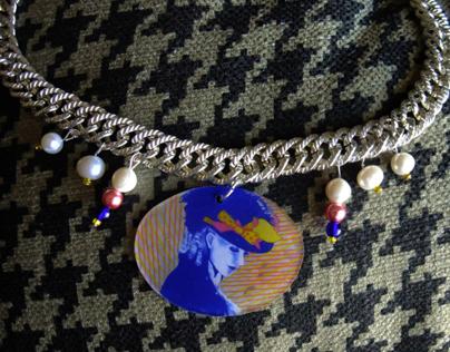 Necklaces - Hand Drawn Pendant