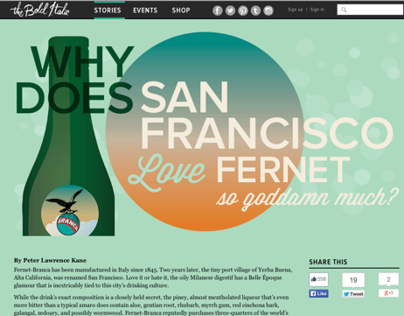 Fernet article design - The Bold Italic