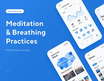 Meditation App Design Concept | UX/UI