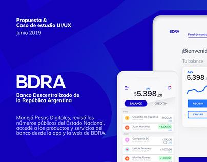 Banco Descentralizado • UI/UX (WIP)