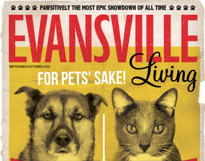 Evansville Living Sept/Oct 2013 Cover