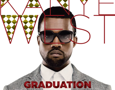 CD cover for Kanye West