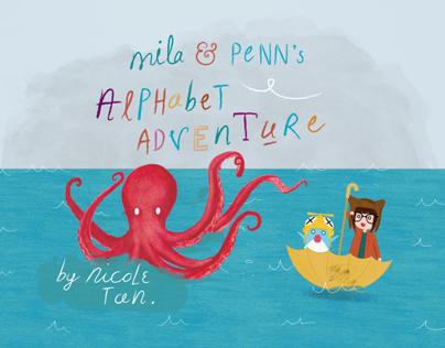 Mila & Penn's Alphabet Adventure