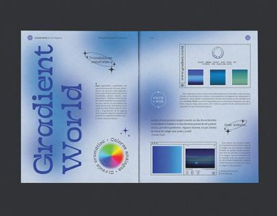 Gradient World - Editorial.