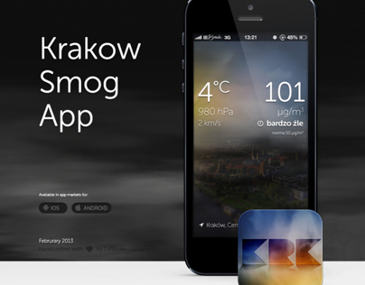 Krakow Smog App - Air Polution in Krakow - Mobile App