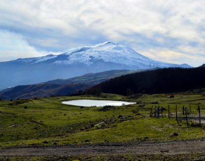 Etna and nearby
