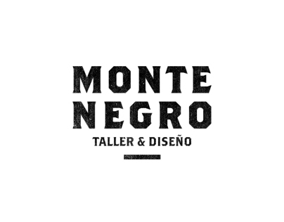Monte Negro - taller & diseño