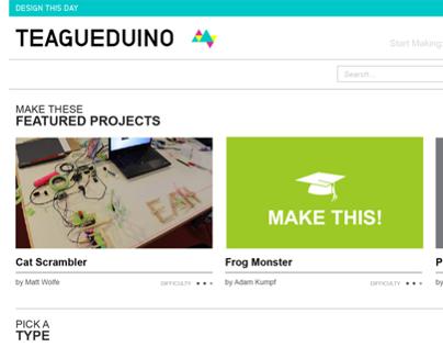 Teagueduino Website & Video