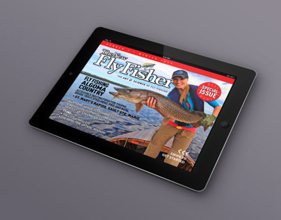 Fly Fisher Algoma iPad Magazine