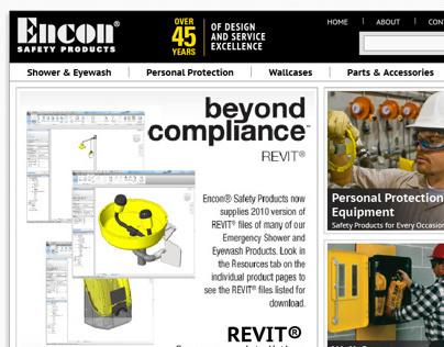Encon Website Redesign