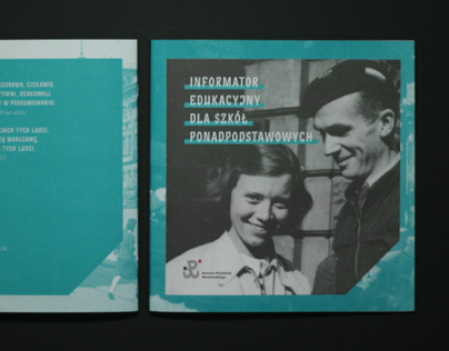 Booklet for the Warsaw Rising Museum