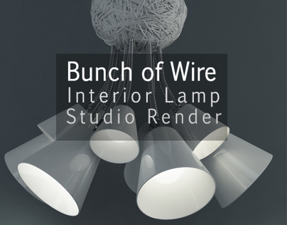 Bunch of Wire - Interior lamp