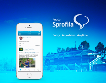 Footy Sprofila Mobile App - Piece 1