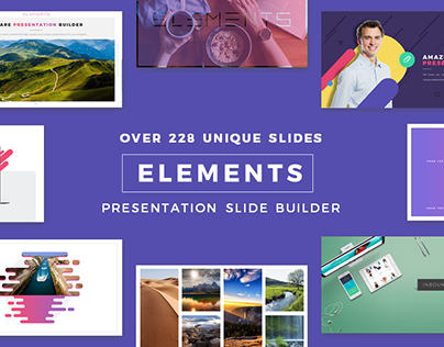 Elements - Creative Presentation Templates | Impressive