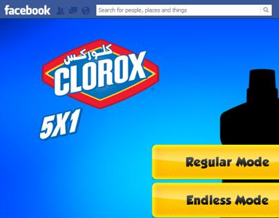 Clorox Egypt Facebook game