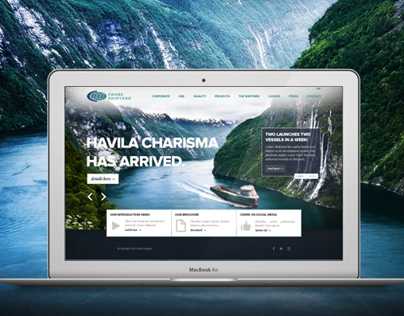 Cemre Shipyard Corporate Website