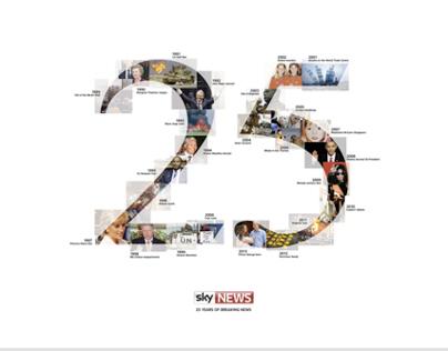 25 Years of Breaking News