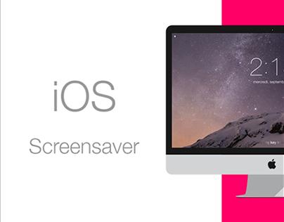 iOS screensaver for OSX