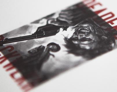BLCKWLKR/DEADFALL CD design