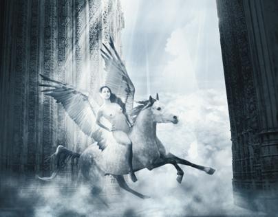 Lady at the Pegasus