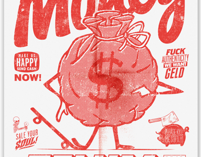 Spend All your Money - Poster
