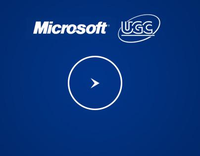 Microsoft UGC advertising