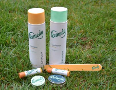 Remedy Inc. Branding