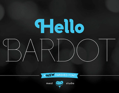 Bardot – Type Design
