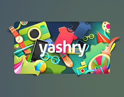 Yashry Advertisment - Shop World - Conceptual