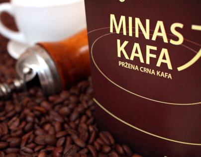 Minas coffee packaging