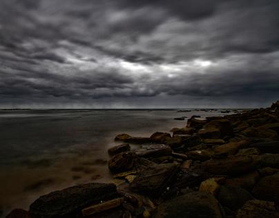 Various photographs taken at Newport Beach, NSW, AU.