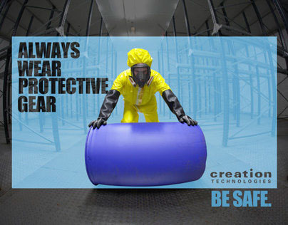 Safety Posters | Creation Technologies