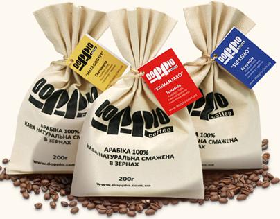Doppio coffee web site